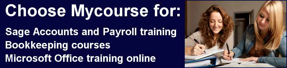 Sage, Bookkeeping and Microsoft courses
