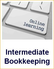 Intermediate Bookkeeping course online
